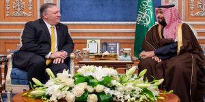 Pompeo, Suudi Veliaht Prens ile İran'ı görüştü