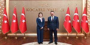 Koreli başkonsolostan Vali Aksoy'a ziyaret
