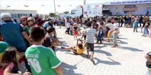 Savaş mağduru çocuklar için 'Sınırsız Şenlik'
