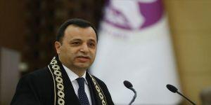 AYM Başkanı Arslan: AİHM'e Türkiye aleyhine başvuru 7 yılda yüzde 50 azaldı