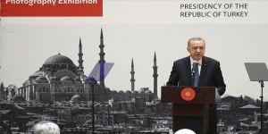Cumhurbaşkanı Erdoğan: Büyük sanatçılar vefatlarından sonra da yaşamaya devam ederler