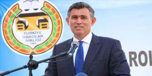 TBB Başkanı Feyzioğlu: Zor şatlarda yaşayan her meslektaşımıza pozitif ayrıcalık yaptık