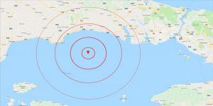 Marmara açıklarında 4.6 büyüklüğünde deprem