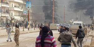 Afrin'de bomba yüklü araç saldırısı: 2 ölü, 10 yaralı