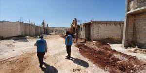 TDV'den engelli, yetim ve şehit ailelerine Suriye'de konut
