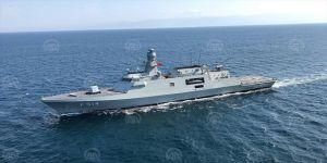 Milli savaş gemisi Deniz Kuvvetleri'ne teslim ediliyor