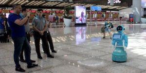 İstanbul Havalimanındaki robotlar, Washington Post'ta anlatıldı