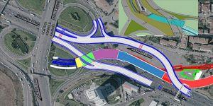 Kurbağalıdere Islah Projesi çalışmasına trafik düzenlemesi