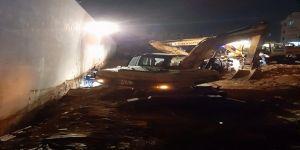Kanalizasyon çalışmasında toprak kayması sonrası sonucu 1 işçi öldü