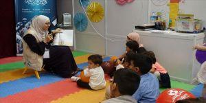 Mültecilerle ilgili STK'lar Arapça Kitap Fuarı'nda