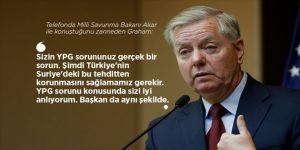ABD'li Senatör Graham, Rus şakacılara 'YPG'nin sorun' olduğunu itiraf etti