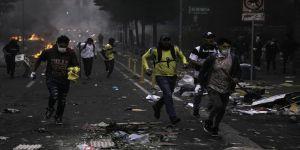 Ekvador'da sokağa çıkma yasağına rağmen protestolar sürüyor