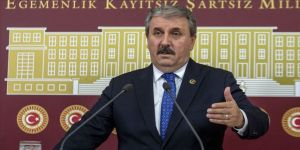 BBP Genel Başkanı Destici: Bölgenin tamamı teröristlerden temizlenmeden harekat bitirilmemeli