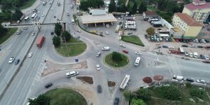 Derince Çenesuyu Kavşağı'nda trafik güvenliği arttırıldı