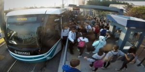 287 bin yolcu taşıyarak yolcu taşıma rekoru kırdı