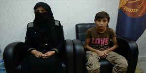 YPG/PKK anne oğulu bombalı saldırıya zorlamış