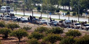 SMO'ya bağlı konvoylar Rasulayn'dan Ceylanpınar'a geldi