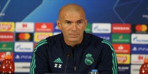 Real Madrid Teknik Direktörü Zidane: Kazanmak için elimizden geleni yapacağız