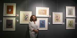 Beyza Ağaoğlu'nun resim sergisi açıldı