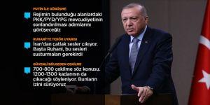 Cumhurbaşkanı Erdoğan: Sözler tutulmazsa harekatımızı kaldığı yerden devam ettireceğiz