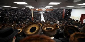 New York'ta Satmar Yahudileri Sukkot bayramını kutladı