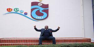 Kevin Campbell'den Trabzonspor'a ziyaret