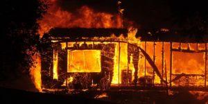 California'daki yangında binlerce kişi tahliye edildi