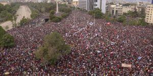 'Şili tarihinin en büyük protestosu' 7. gününde