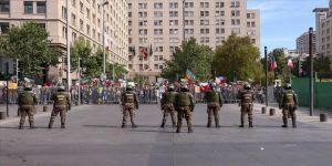 Şili'de gösterilere katılım büyük oranda düştü