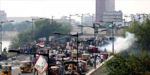 Irak'ın başkenti Bağdat'ta sokağa çıkma yasağı ilan edildi