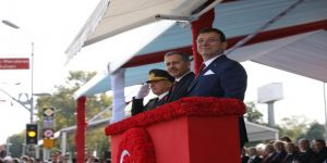 İmamoğlu, İstanbul Valiliği'nde düzenlenen törene katıldı