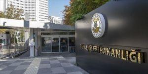Dışişleri Bakanlığı: ABD Temsilciler Meclisi'nce kabul edilen kararı reddediyoruz