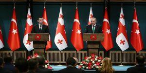 Cumhurbaşkanı Erdoğan: Türkiye-Gürcistan stratejik iş birliği konseyi toplanacak