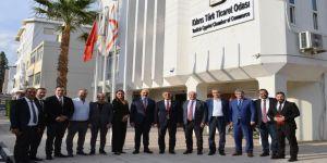Başkan Bulut'tan, SAİK yönetimiyle Kıbrıs'a iş ziyareti