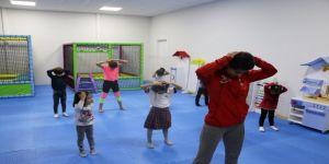 Kocaeli Anne Şehirde çocuklar da spor yapıyor