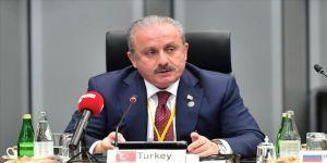 TBMM Başkanı Şentop G20 Parlamento Başkanları Zirvesi açılışına katıldı