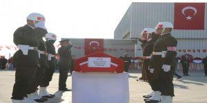 Şehit Topçu'nun cenazesi memleketi Osmaniye'ye uğurlandı