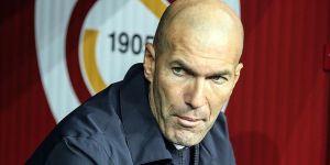 Zidane'dan Galatasaray maçı öncesi yorum yok