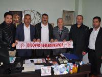 Dilovası Belediyespor'a destek sürüyor