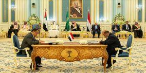 Yemen'de Riyad Anlaşması sonrası parçalanmış görüntü