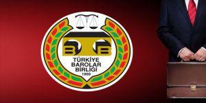 TBB'de olağanüstü genel kurul girişimlerine 5 barodan tepki