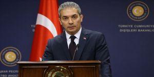 Dışişleri Bakanlığı Sözcüsü Aksoy: Yunanistan'ın Türklere yaptığı mezalimi unutmadık
