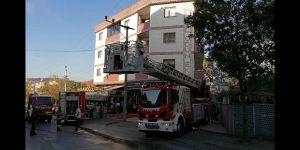 Gebze'de fırında yangın !
