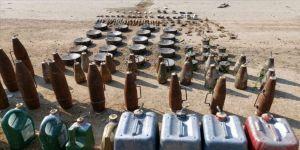 Barış Pınarı Harekatı bölgesinde 331 mayın ve 891 el yapımı patlayıcı etkisiz hale getirildi