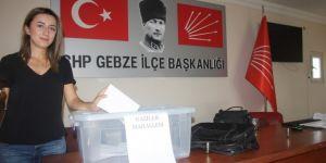 CHP Gebze'de delege takvimi açıklandı