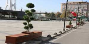 Modern şehir mobilyalarının sayısı arttırılıyor