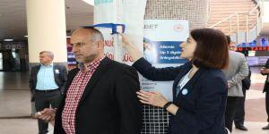 Otogarda Diyabet Standı
