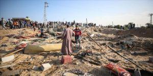 Gazze'de 'Büyük Dönüş Yürüyüşü' İsrail'in saldırıları nedeniyle yapılamadı