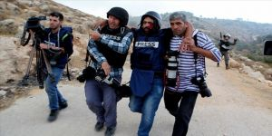 İsrail saldırısında gözünü kaybeden Filistinli gazeteciye büyük destek