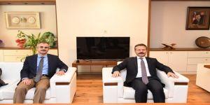 Vali Aksoy'dan Başkan Çiftçi'ye ziyaret